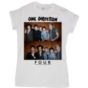 One Direction Four Ladies White Skinny: Large