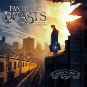 Ex-Display Fantastic Beasts Official 2017 Calendar Used - Like New