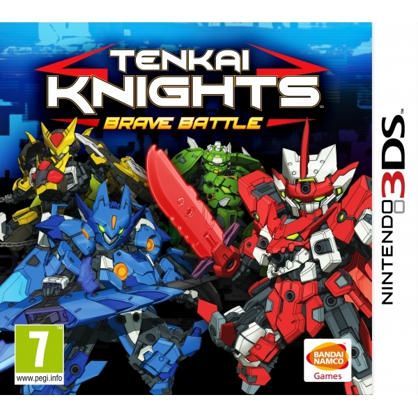Tenkai Knights Brave Battle 3DS Game - Image 1