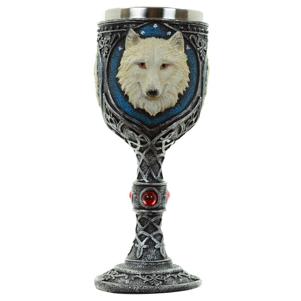 Collectable Decorative Wolf Goblet