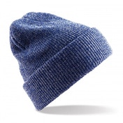 Heather Royal Blue Heritage Knitted Beanie ZT