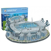 Manchester City FC Eithad Football Stadium 3D Jigsaw Puzzle