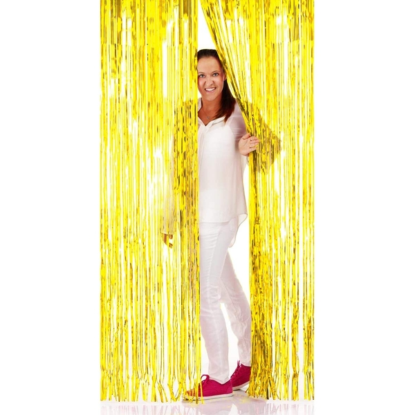 Foil fringe Door (Gold)