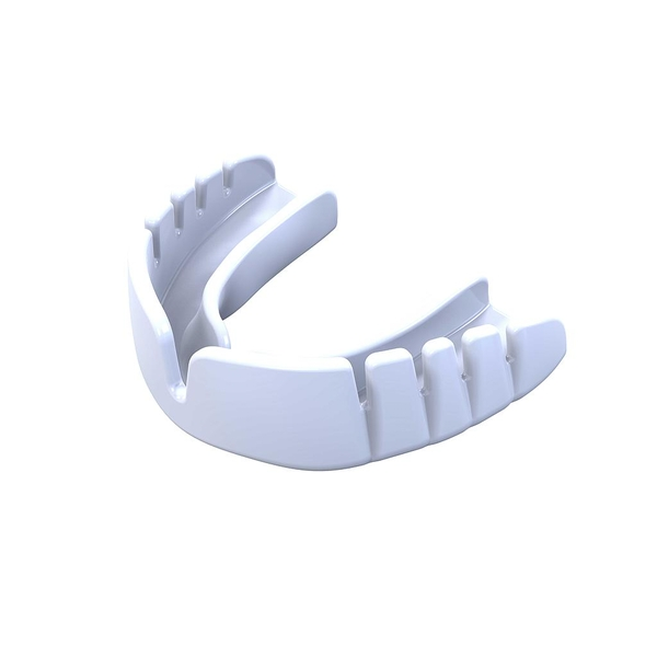 Safegard Snap Fit Mouthguard White - Adult
