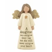 Daughter Angel (Pack Of 4) Ornaments