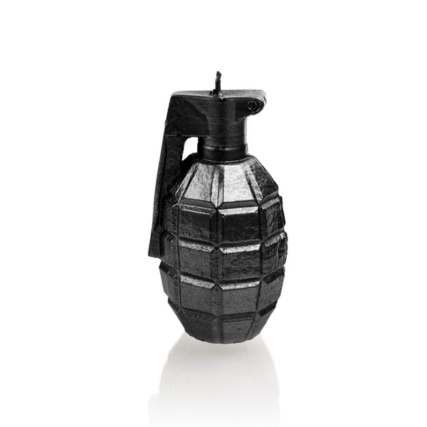 Steel Small Grenade Candle