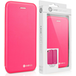 Caseflex iPhone 7 PU Leather Stand Wallet with Felt Lining/ID Slots - Pink (Retail Box) - Image 2