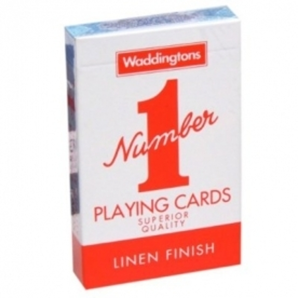 Number 1 Playing Cards (Colours May Vary)