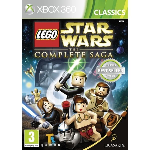 Lego Star Wars The Complete Saga Game (Classics) Xbox 360