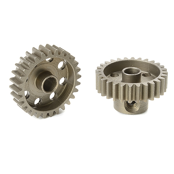 Corally 48 Dp Pinion Short Hardened Steel 28 Teeth Shaft Dia. 3.17Mm