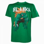 Capcom StreetFighter Men's Blanka Large T-Shirt - Green
