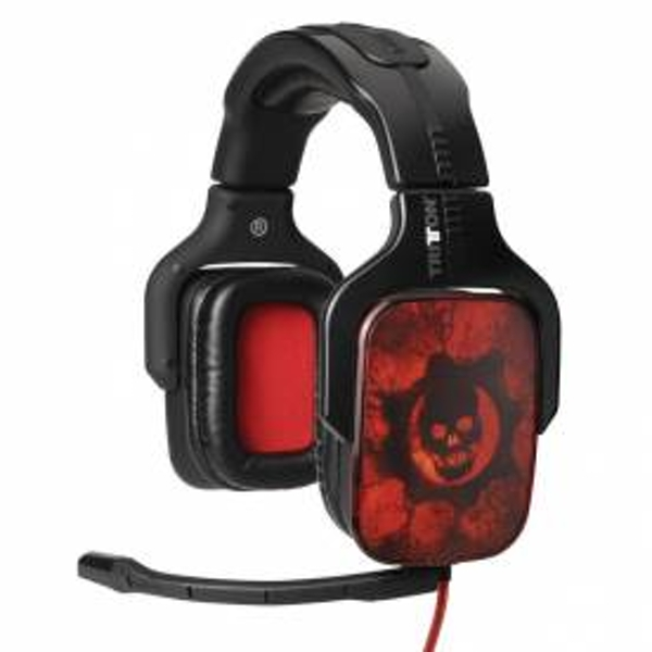 Tritton AX720 Gears Of War 3 GOW3 7.1 Surround Sound Headset Xbox 360 PC PS3 & PS4
