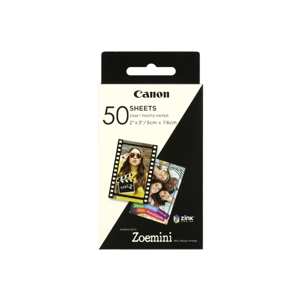 Image of Canon Zoemini Zink Photo Paper 50 Sheet Pack