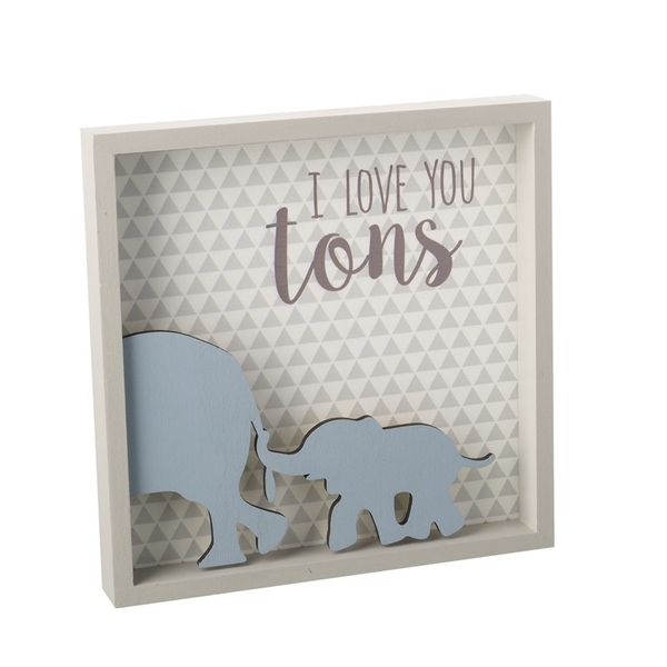 I Love You Tons Wooden Plaque By Heaven Sends