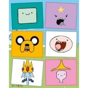 Adventure Time Faces Mini Poster