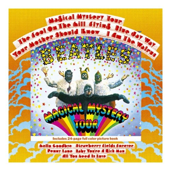 The Beatles - Magical Mystery Tour Greetings Card