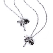 Guns N' Roses - Twin Charms Necklace & Bracelet Set