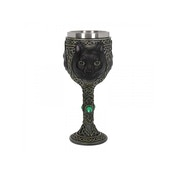 Feline Watcher Goblet