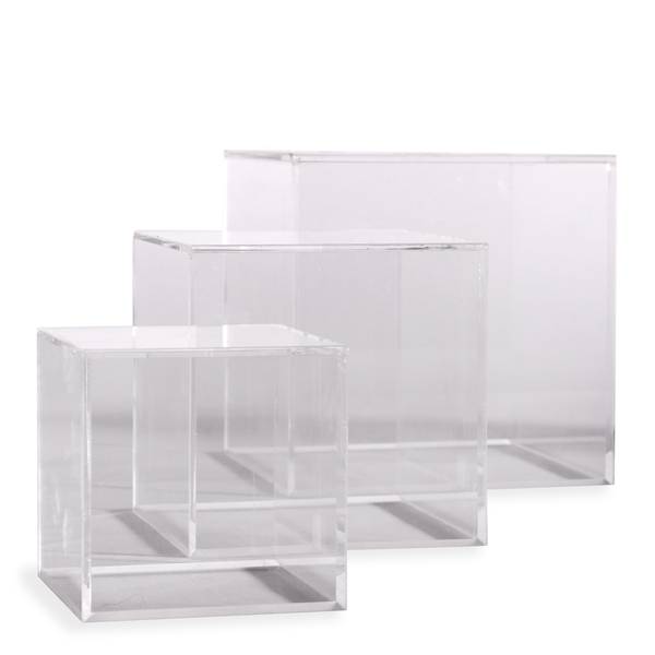 Acrylic Display Cases | Pukkr 5 Side