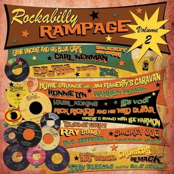 Various ‎– Rockabilly Rampage Volume 2 Limited Edition Red Vinyl