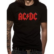 AC/DC Red Logo T-Shirt Medium