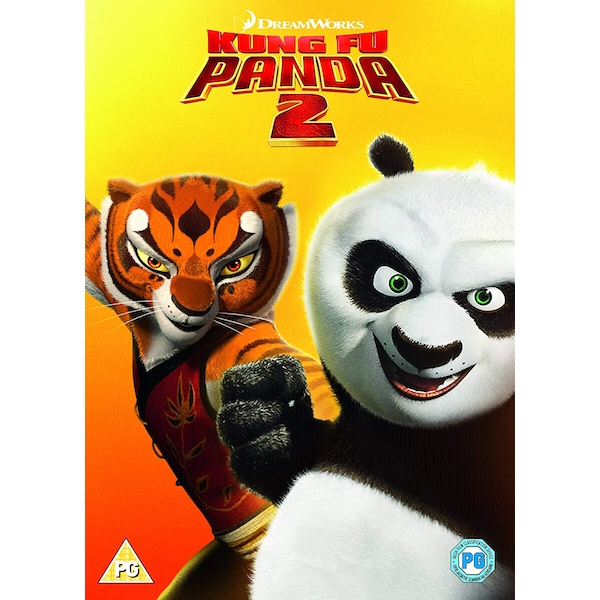 Kung Fu Panda 2 (2018 Artwork Refresh) DVD