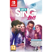 Let's Sing 1 Mic Pack Nintendo Switch Game