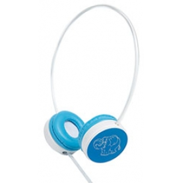 Groov-e Children's Headphones with Volume Limiter (Blue)