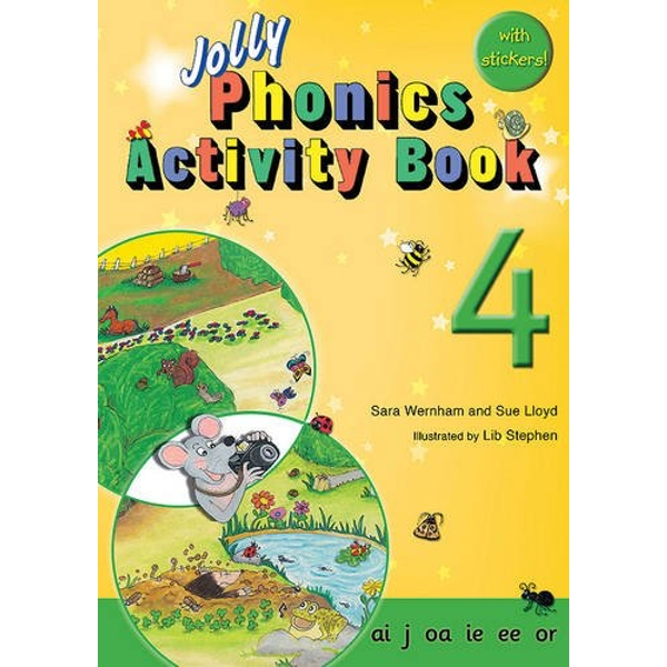 Jolly Phonics Activity Book 4: in Precursive Letters (BE) by Sue Lloyd, Sara Wernham (Paperback, 2010)