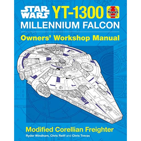 Star Wars YT-1300 Millennium Falcon Owners' Workshop Manual Modified Corellian Freighter Hardback 2018