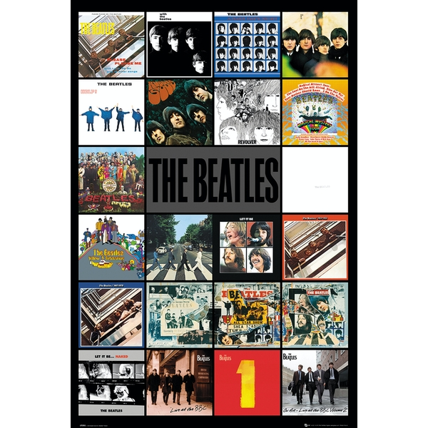 The Beatles Albums Maxi Poster