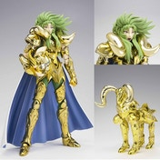 Bandai Saint Seiya Aries Shion Holy War Version Saint Cloth Myth Ex Die-Cast Metal AF
