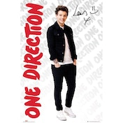 One Direction Louis Logos Maxi Poster