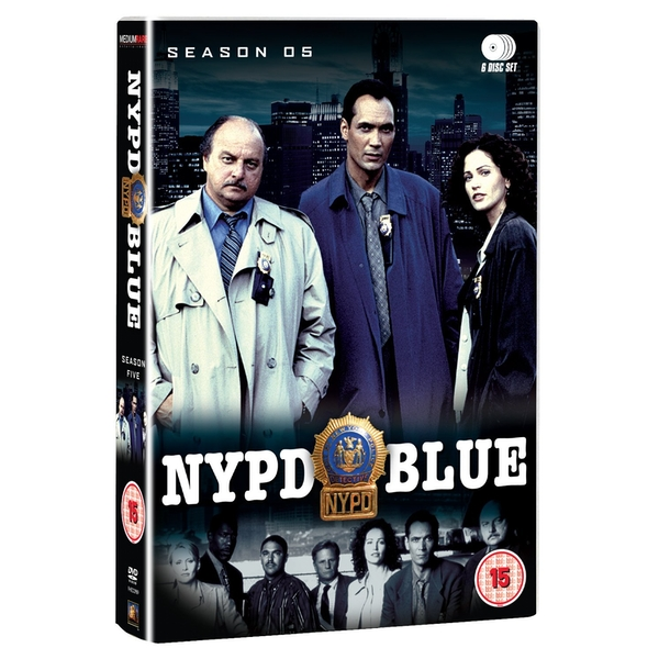 NYPD Blue - Series 5 - Complete DVD 6-Disc Set