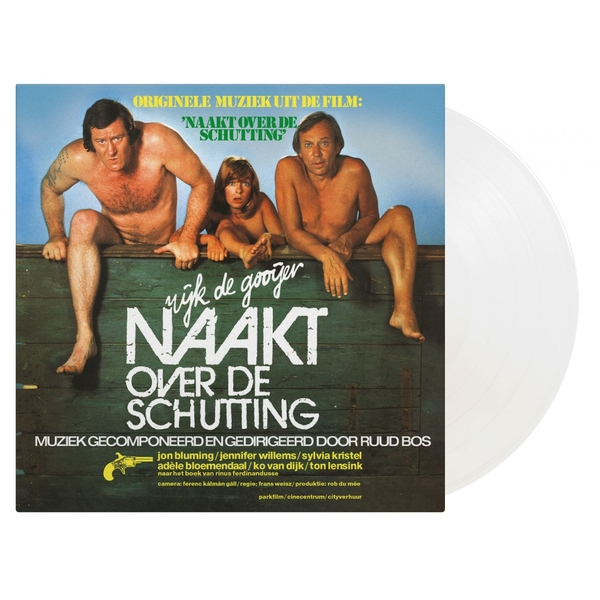 Ruud Bos - Naakt Over De Schutting Limited Edition White Vinyl