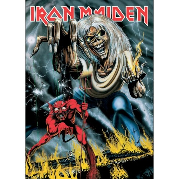 Iron Maiden - Number of the Beast Postcard