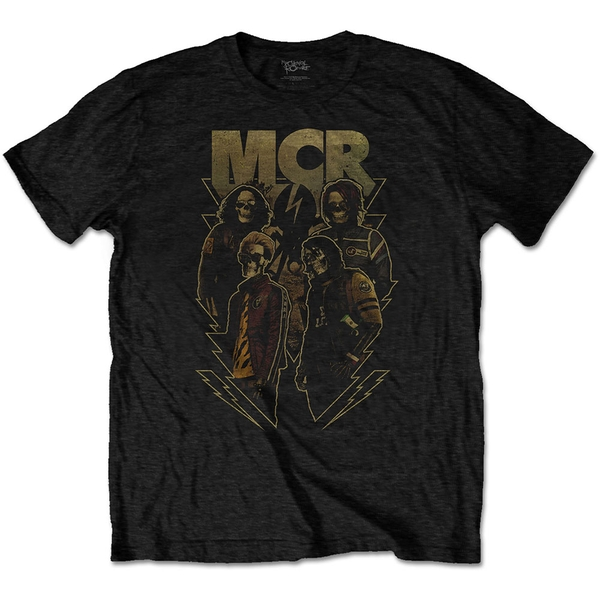 My Chemical Romance - Appetite For Danger Unisex Small T-Shirt - Black