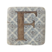 Letter F Coasters By Heaven Sends