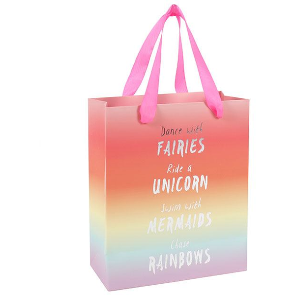Medium Rainbow Giftbag Pack Of 6