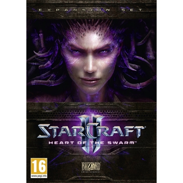 StarCraft II 2 Heart Of The Swarm PC