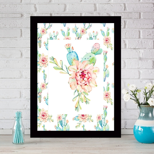 SCZ5686957874 Multicolor Decorative Framed MDF Painting