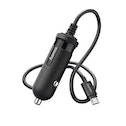 Hama Car charger, micro-USB, 2.4 A, black