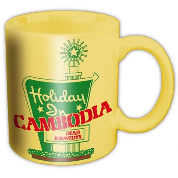 Dead Kennedys - Holidays in Cambodia Boxed Standard Mug