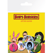Bobs Burgers Mix Badge Pack