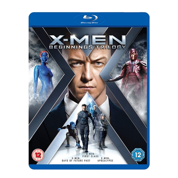 X-Men: Beginnings Trilogy Blu-ray