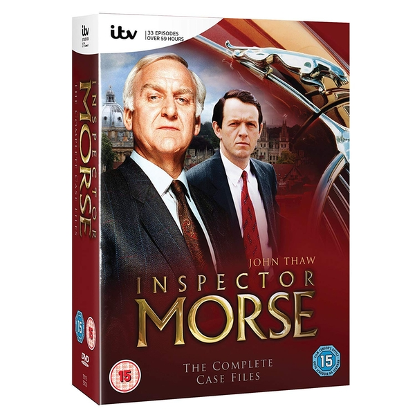 Inspector Morse: The Complete Collection Series 1-12 DVD