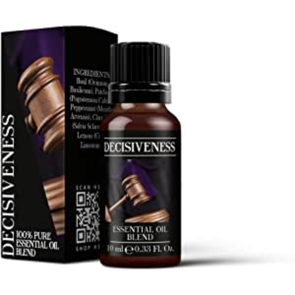 Mystic Moments Decisiveness Essential Oil Blends 10ml