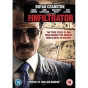 The Infiltrator 2016 DVD