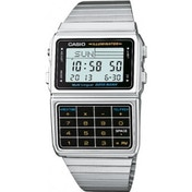 Casio Men's Quartz Watch with Grey Dial Digital Display DBC-611E-1EF