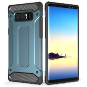 Caseflex Samsung Galaxy Note 8 Armoured Shockproof Carbon Case - Blue